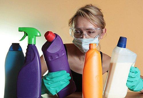 Антибактериальные средства для уборки