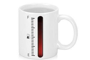 Чашка с температурным индикатором