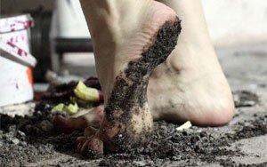 Босиком по грязи
