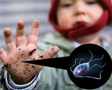 Лямблиоз у ребенка