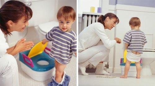 Поведение родителей при запорах у ребенка