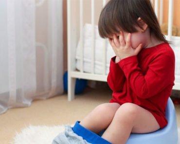 Психологический запор у детей
