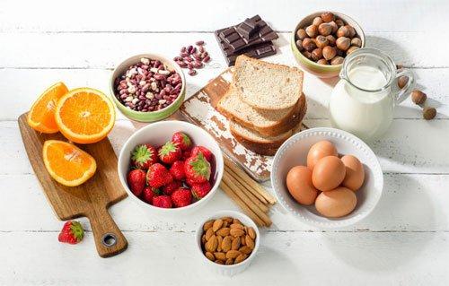 Аллергенные продукты питания